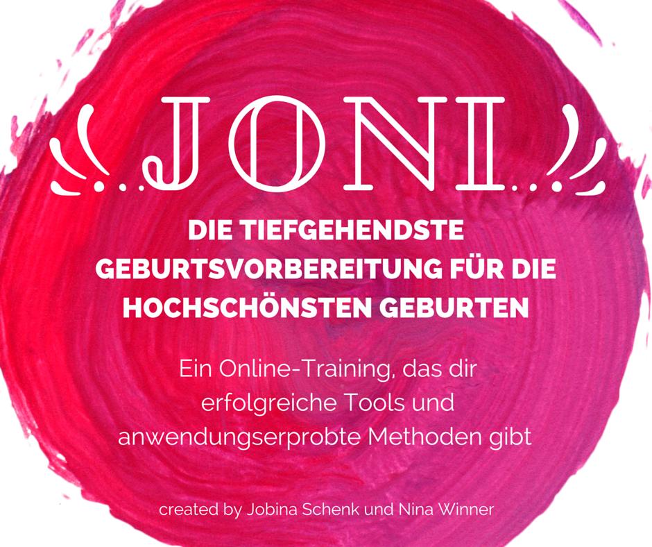 JoNi Online Kurs zur Geburtsvorbereitung