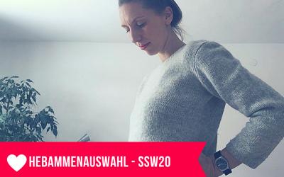 Hebamme, Hausgeburt und Geburtsvision – ein Schwangerschaftsupdate aus der 20.SSW
