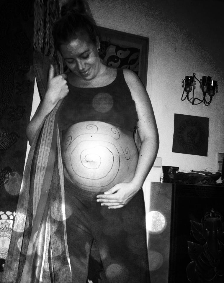 entspannte Schwangerschaft