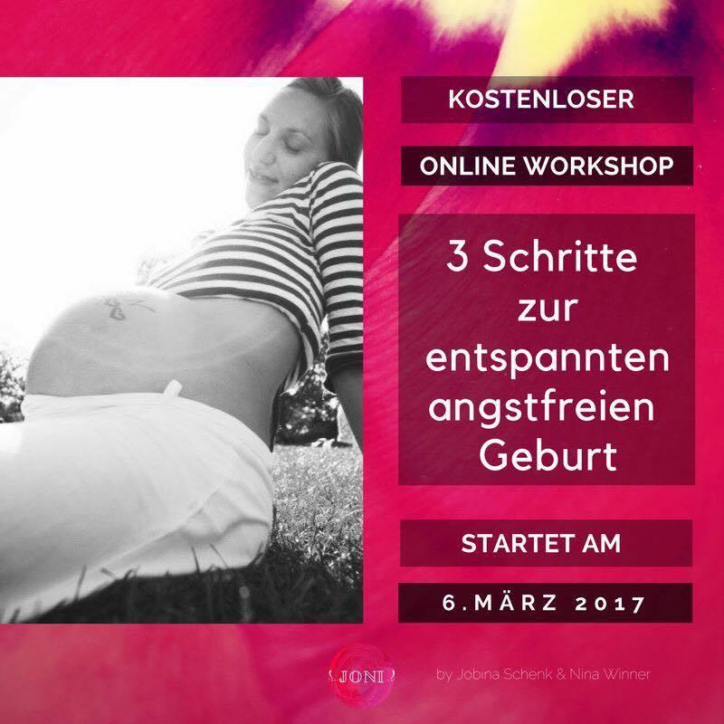 Kostenloser Videoworkshop zur Vorbereitung auf die Geburt